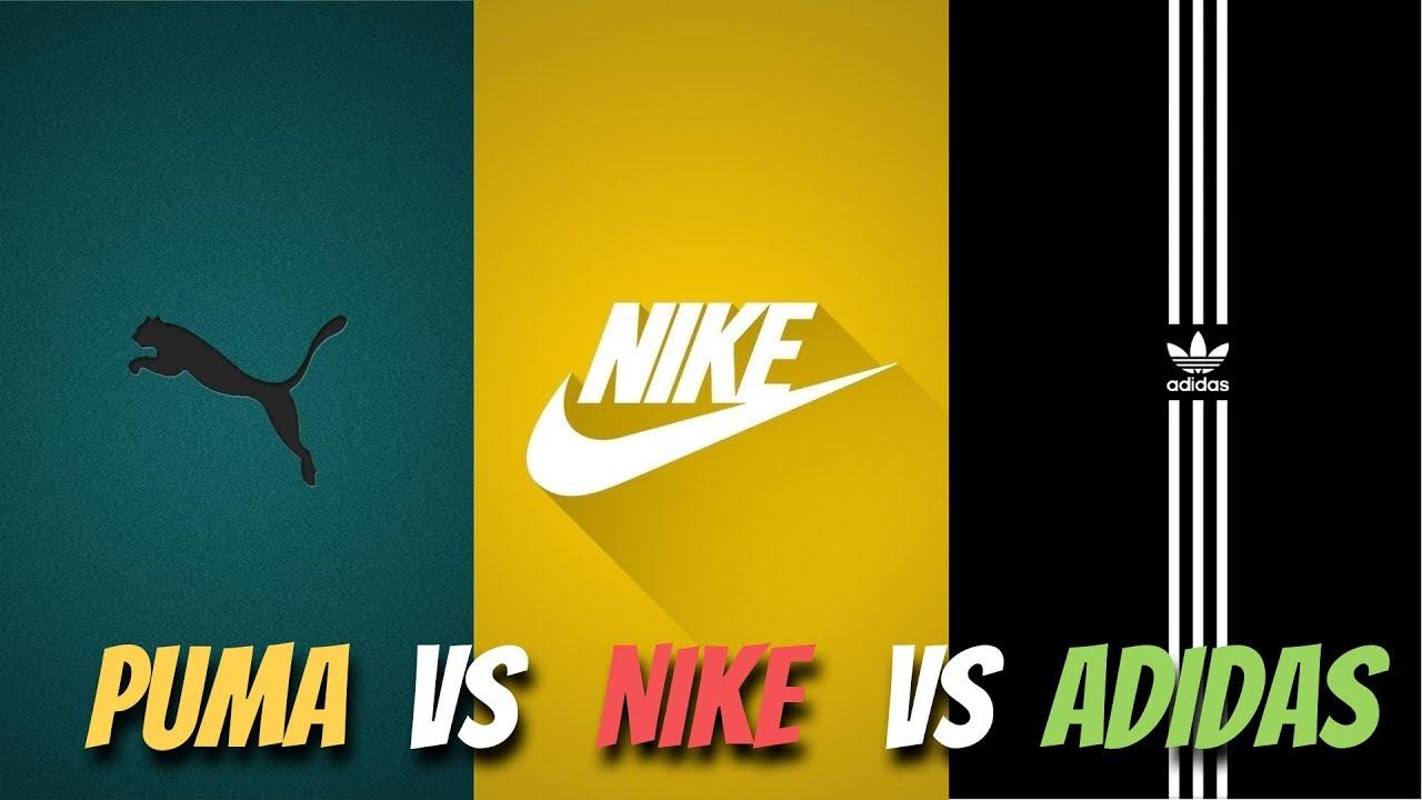 nike vs adidas vs reebok vs puma market share