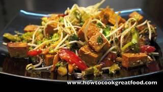 Stir Fried Tofu & Vegetable Recipe - Vegan Healthy Eating