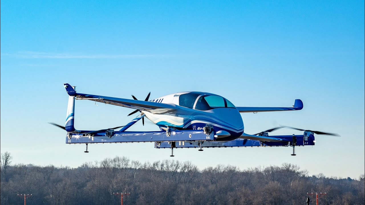 Boeing's electric self-piloted passenger drone completes first test