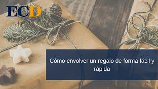 Mostramos cómo envolver un regalo de forma fácil y rápida. thumbnail