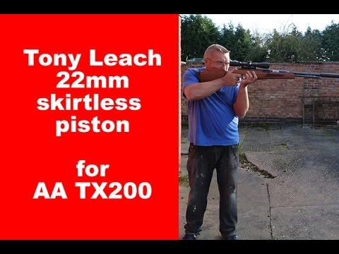 Tony Leach 22mm piston conversion for TX200