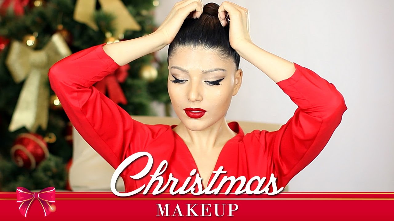 Episod 66 Machiaj De Craciun Ochi De Pisica Christmas Make Up