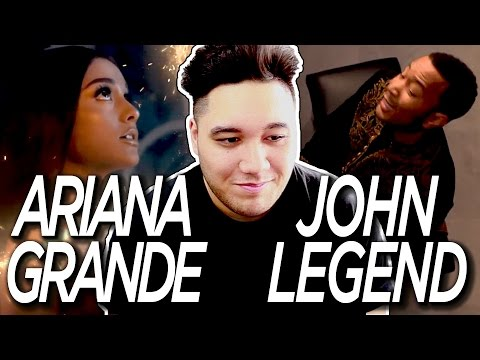 Ariana Grande & John Legend - Beauty and the Beast (Official Video) REACTION!!!
