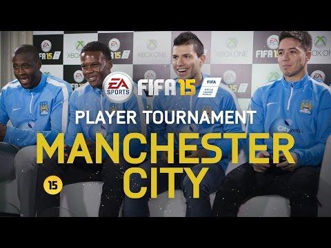 FIFA 15 - Manchester City Player Tournament - Agüero, Nasri, Touré, Boyata