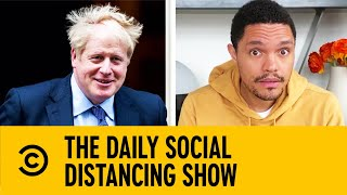 Boris Johnson Tests Positive For COVID-19   The Daily Show With Trevor Noah