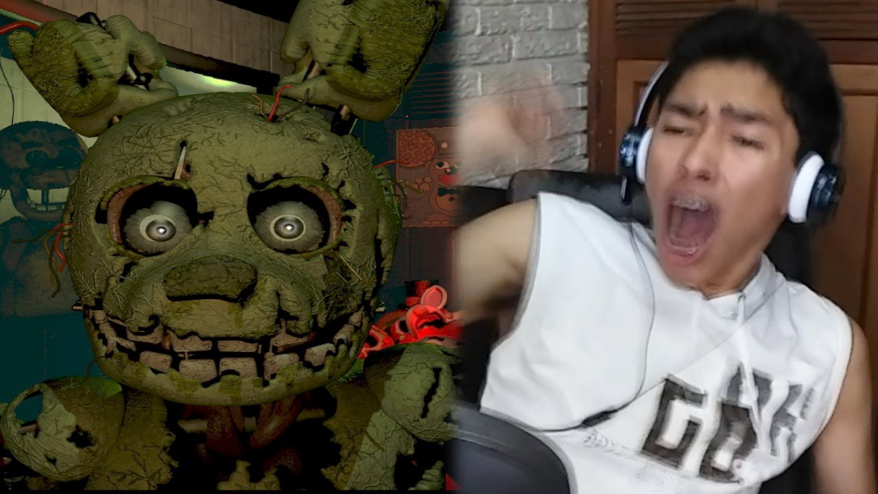 videos de five nights at freddys 3 noche 5 fernanfloo