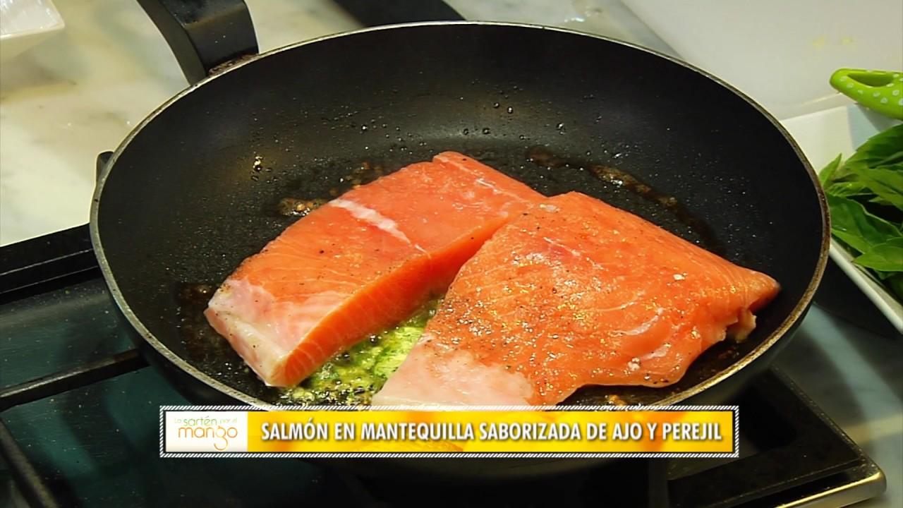 como hacer salmon en salsa de coco