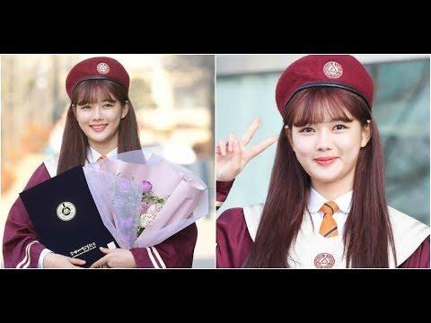 Kim Yoo Jung graduates from Goyang High School of Arts(News)