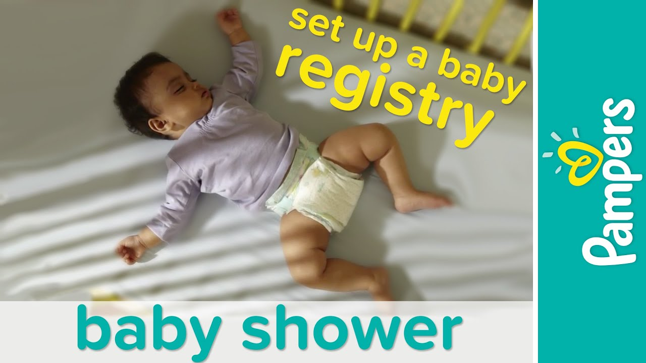 Baby Haul: Checklist for Baby Registry | Pampers - YouTube