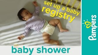 Baby Haul: Checklist for Baby Registry   Pampers
