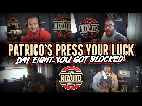 Patrico's Press Your Luck Day 8: What will get you BLOCKED?! [Rizzuto Show]