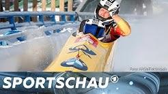 Zweierbob: Friedrich holt historischen Weltcup-Sieg | Sportschau