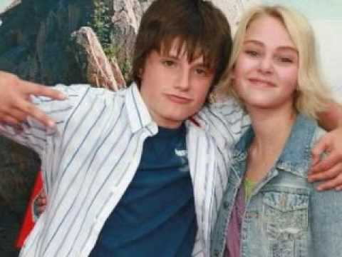 On the line - Josh Hutcherson & AnnaSophia Robb - Josh ...