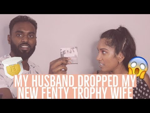 HUSBAND DOES MY MAKE UP CHALLENGE | USING FENTY BEAUTY