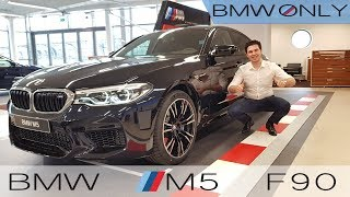 NEW 2018 BMW M5 – BRUTAL Start up – Interior and Exterior Review