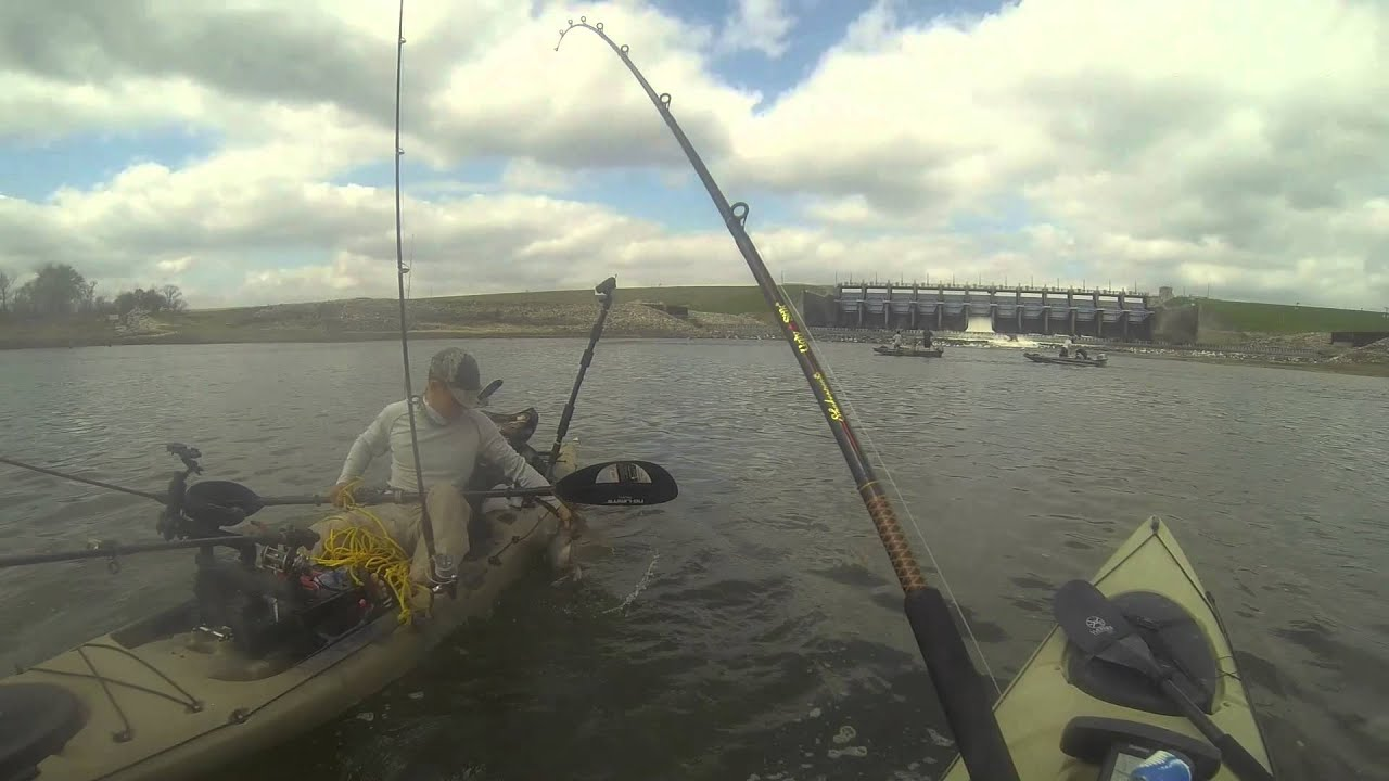 Paddlefish below lake livingston uncut youtube for Lake livingston fishing report