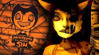 alice angel up close new secret room   bendy and the ink machine chapter 3 secrets