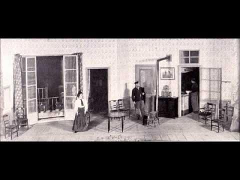 """""""LOUISE"""" Charpentier, duet Suzanne Brohly & Paul Payan, Paris 1910 HMV."""