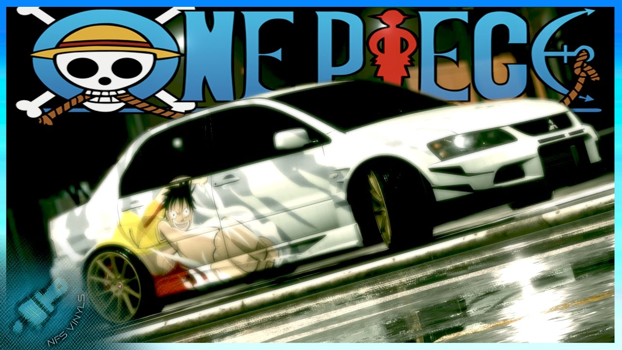 Need for Speed 2015 One Piece Speed painting vinyl - YouTube