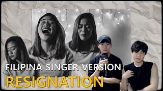 When She Sings, We Get Goose Bumps! Korean Guys react to 'Resignation' morissette amon cover