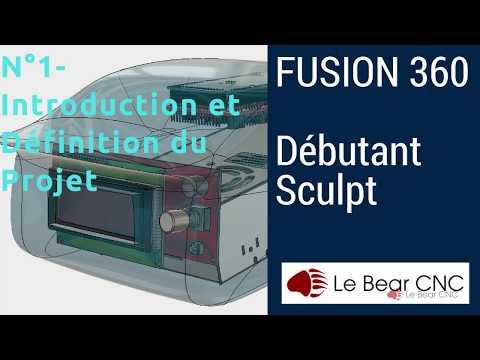 Présentation et Introduction du Projet - Débutant Sculpt N°1 - Fusion 360 Français