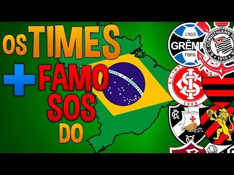 OS 12 TIMES MAIS FAMOSOS DO BRASIL!!