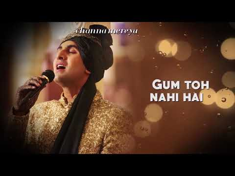 Channa Mereya   Lyric Video   Ae Dil Hai Mushkil   whatsapp video - whatsapp status video
