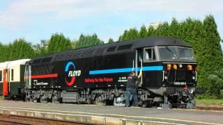 Kirándulás Class 56-ossal / Ex-British Rail Class 56 in Hungary changing ends