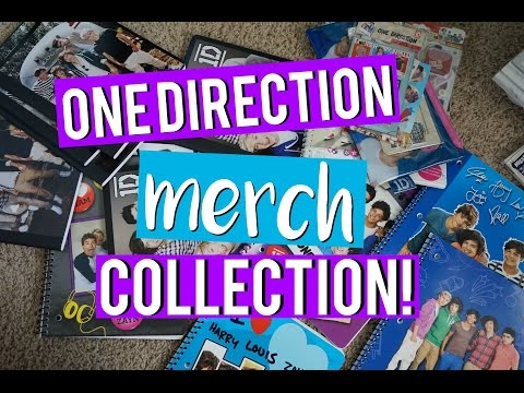 Repeat ONE DIRECTION MERCH COLLECTION!|MIDORIYUKIDAWN by