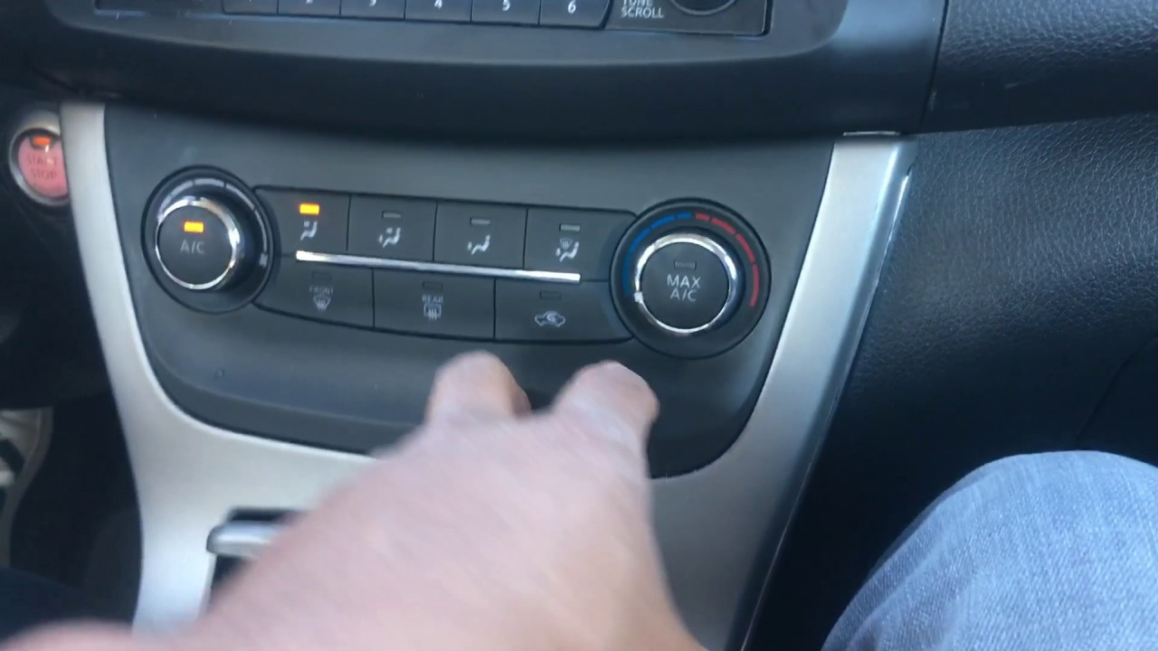 Nissan Sentra Heat And Air Conditioner Operation