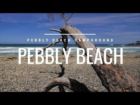 PEBBLY BEACH Campground - AWESOME Creek CROSSING Australia