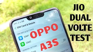 Oppo A3s Jio Volte Test | Dual Volte,Video call test
