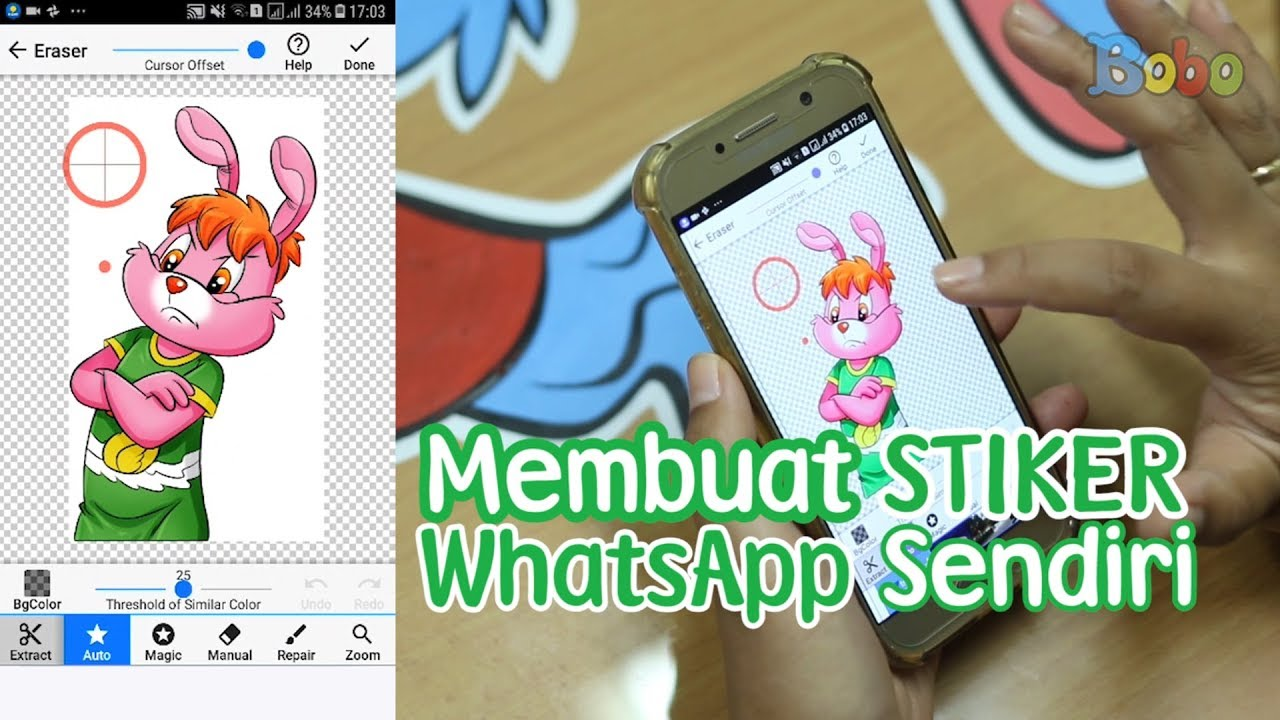 Stiker Whatsapp Cara Membuat Stiker Whatsapp Sendiri Youtube
