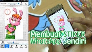 Download Video Stiker WhatsApp - Cara Membuat Stiker WhatsApp Sendiri MP3 3GP MP4