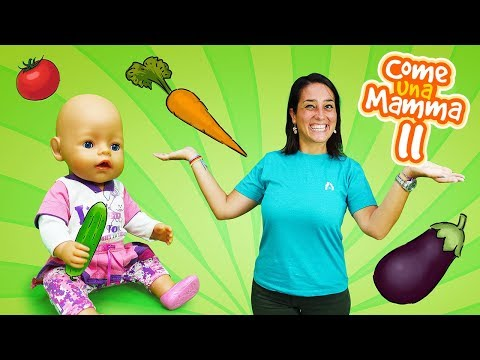 Video e giochi per bambini. La bambola Nenuco riposa.  Giochi per bambini con le bambole