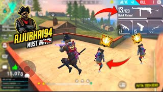 Ajjubhai Play With Legendry Player Amitbhai - Garena Free Fire