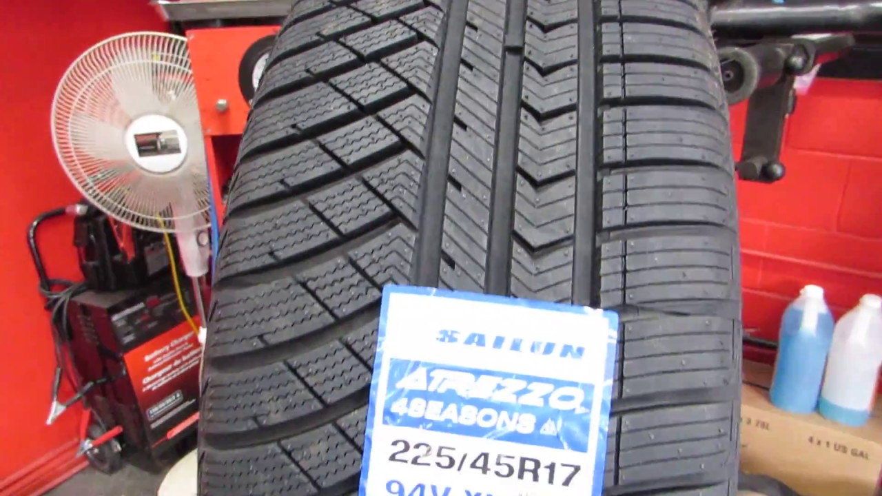 Remove Tire From Rim >> SAILUN ATREZZO 4 SEASON TIRE REVIEW - ALL WEATHER (SHOULD I BUY THEM) - YouTube