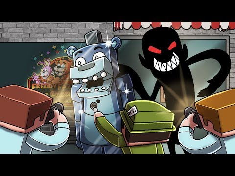 Minecraft - FNAF CREATORS: NEW ANIMATRONICS! (Five Nights at Freddy's) thumbnail
