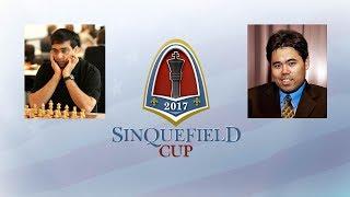 Вишванатан Ананд vs Хикару Накамура (Четвертый этап Grand Chess Tour 2017 - Сент-Луис) - 1 тур