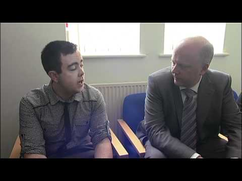 Minister for Employment Chris Grayling visits Salvation Army centre