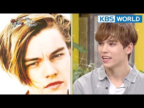 VERNON looks like Leonardo Dicaprio♥♥♥ [Happy Together/2018.04.12]