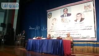 بالفيديو : جامعة دمنهور تكرم أبطال حرب أكتوبر