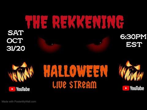 REKKENING LIVE HALLOWEEN REHEARSAL SHOW!