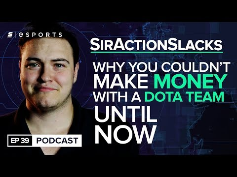 SirActionSlacks on why the Dota scene is better than League of Legends, Valve's new Major system