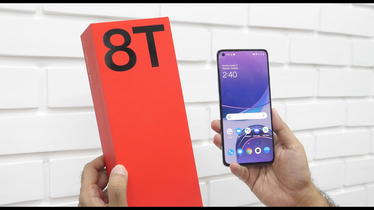 Download OnePlus 8T Unboxing & Overview (Retail Indian Unit)