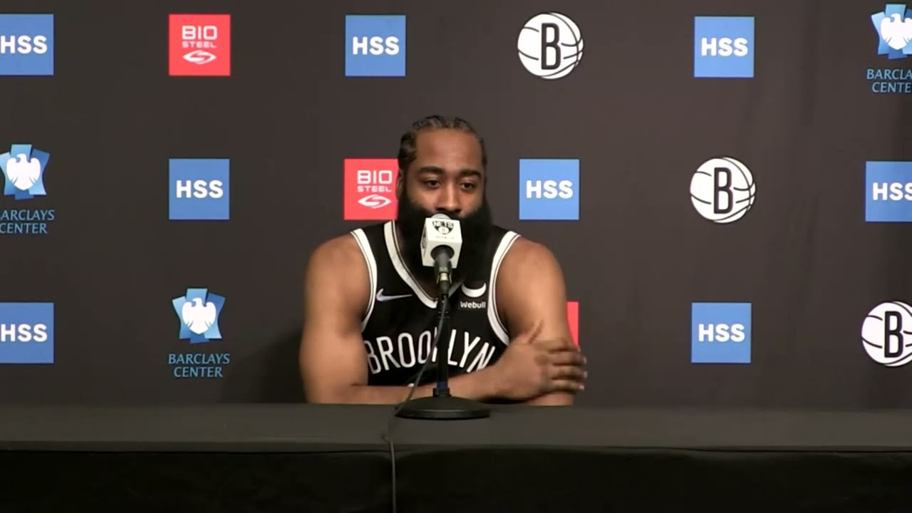 Download James Harden Full Interview Heat #NBAMediaDay
