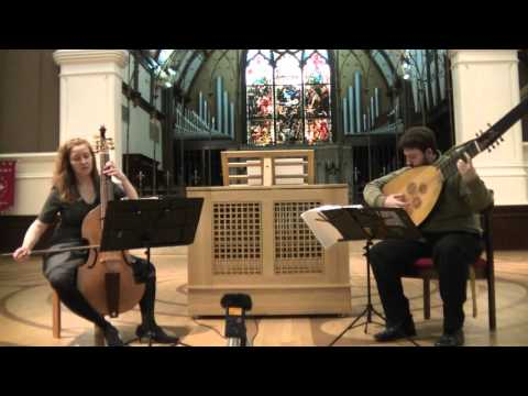 Marais: Tombeau pour M. de Ste. Colombe   Amy Domingues, viola da gamba and Anthony Harvey, theorbo