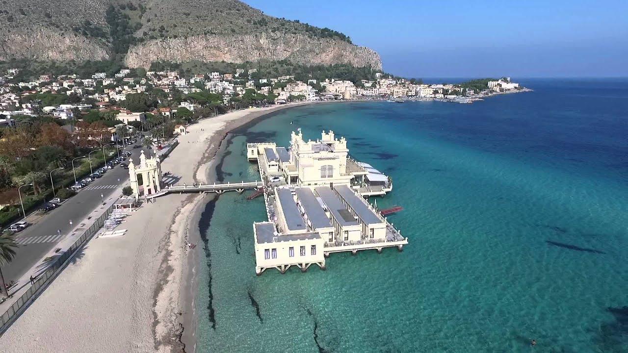 Matrimonio Spiaggia Mondello : Spiaggia mondello youtube