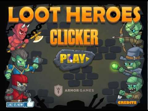 Loot Heroes Clicker (Strategy Game)