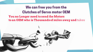 Plan Pro-actively & Get Servo motor Repaired SAME DAY - Locally at UAE